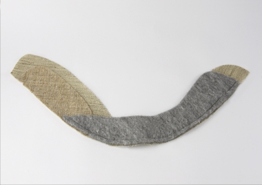 Men's sleeve head tapes / With buckram / Product 152