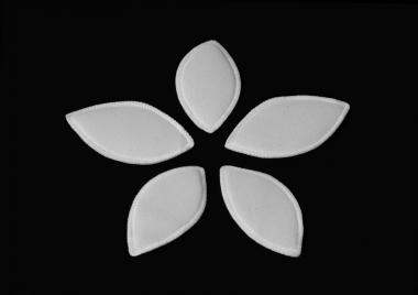 Чашки, подплънки за бански  и сутиени, бюстиета / Подплънки за бански и сутиени / Артикул 193